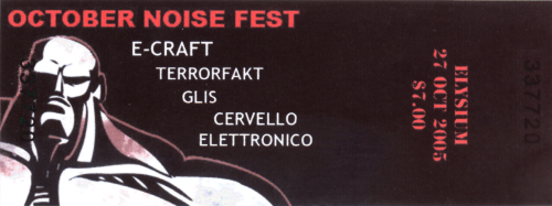 October Noise Fest Ticket